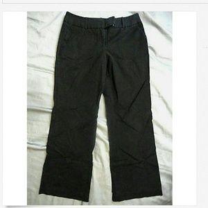 WORTHINGTON Dress Pants 8 Black Modern Fit